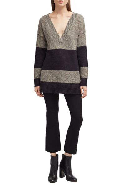 French Connection Alice Nep Knits Stripe Jumper