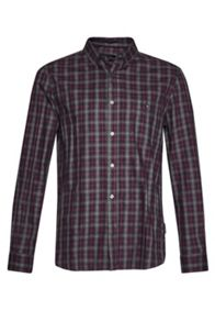 French Connection Lifeline Ombre Check Shirt