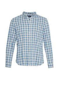 French Connection Tartan Peached Regular Fit Shirt