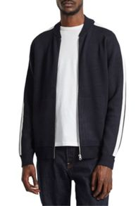 French Connection Lakra Zip Thru Knit Zip Cardigan