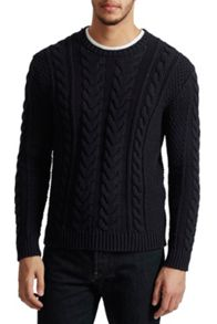 French Connection Flux Cable Knit Jumper