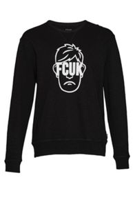 French Connection FCUK Face Sweatshirt