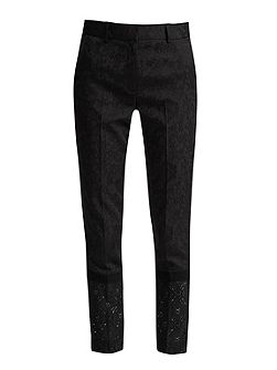 Francisco Jacquard Lace Trousers