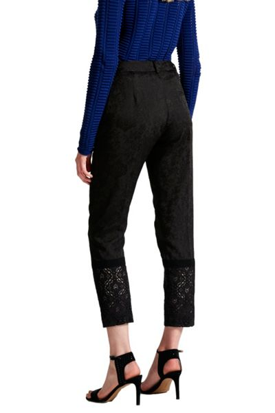 French Connection Francisco Jacquard Lace Trousers