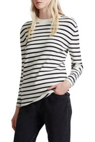 French Connection Mozart Milano Stripe Jumper