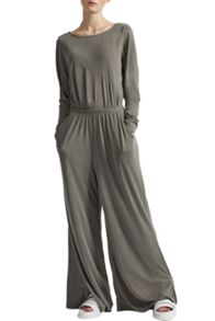 Great Plains So Peachy Wide Leg Jersey Trousers