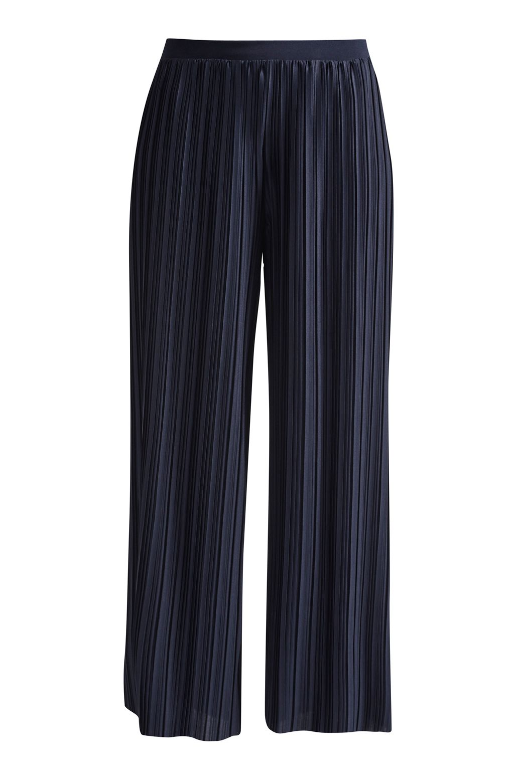 Great Plains Narcissus Jersey Flared Culottes, Blue