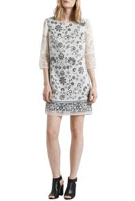 Great Plains Ferne Burnout Tunic Dress