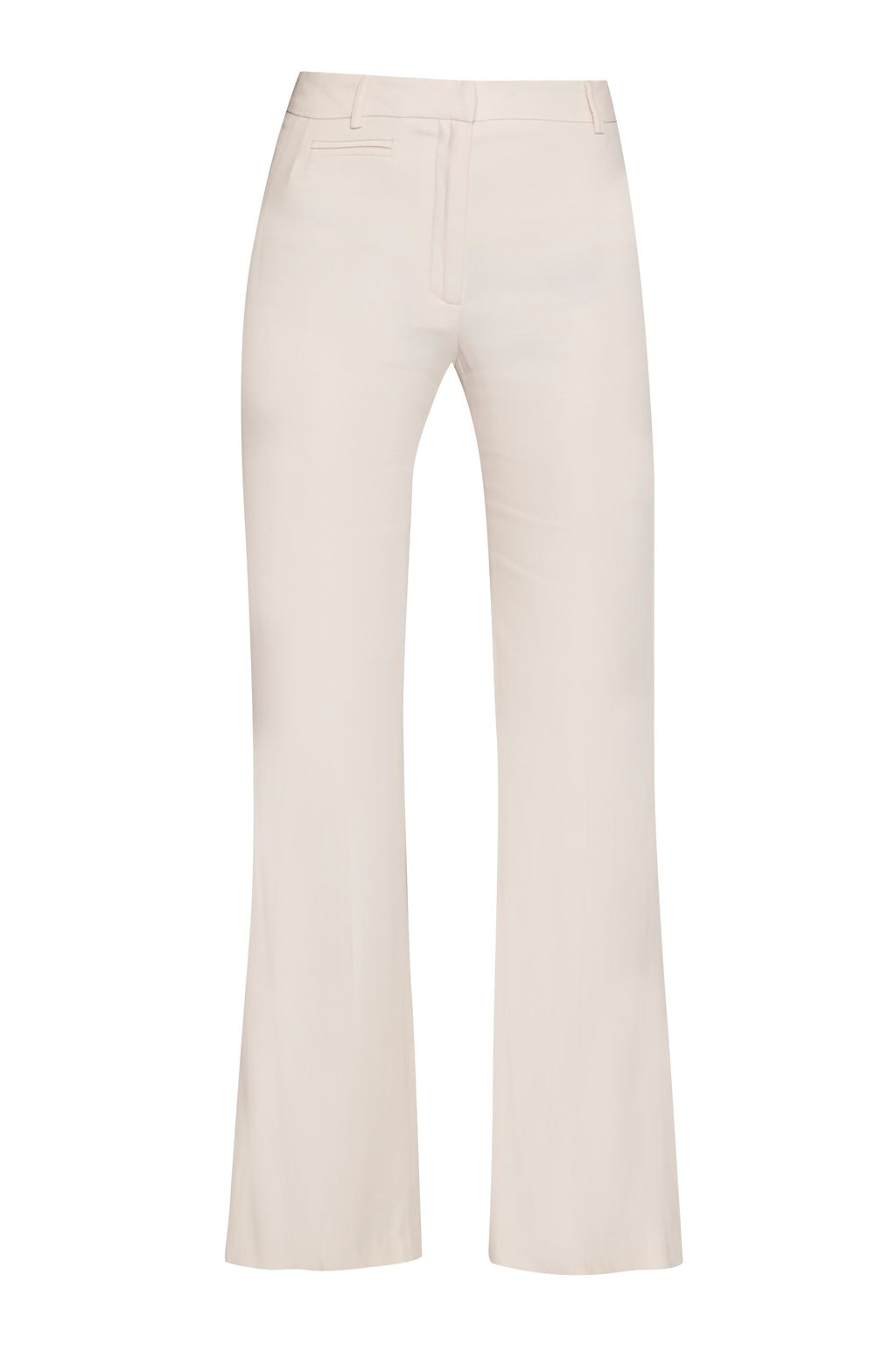 Great Plains Megan Crepe High Waist Trousers, Pink