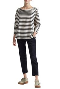 Great Plains Take It Easy Oversized Stripe T-Shirt