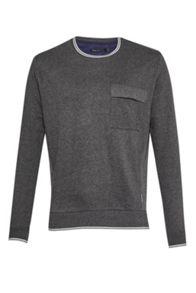 French Connection Rishi Rib Sweatshirt