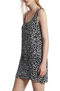 French Connection Dorothy Drape Sleeveless Floral Dress