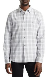 French Connection Lifeline Soft Window Check Shirt