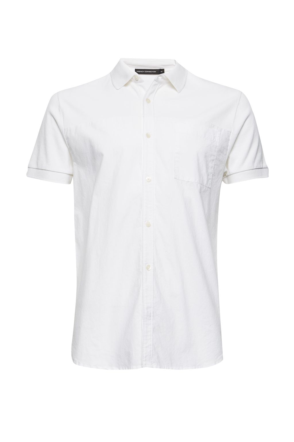 Men's French Connection Hybrid Polo Shirt, White