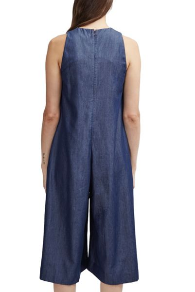 French Connection Dew Denim Tencel Jumpsuit