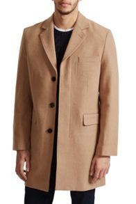 French Connection Marine Melton Tailored Coat