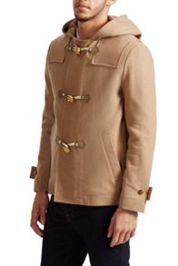 French Connection Marine Melton Duffel Coat