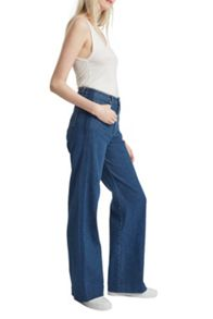 French Connection Ash Wide Leg Denim Jeans