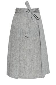Great Plains Layla Linen Waist Tie Skirt