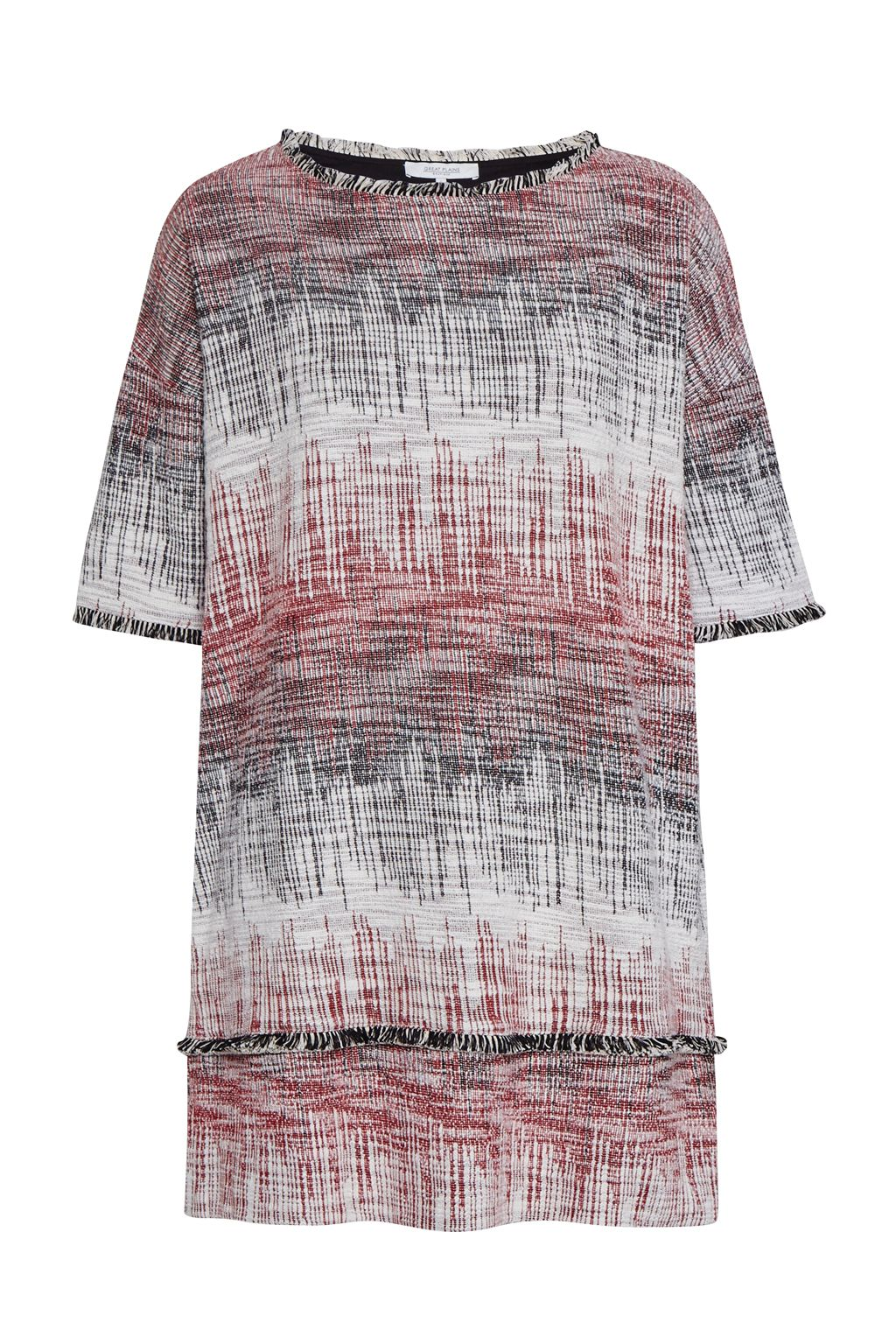 Great Plains Great Plains Romany Scribble Tunic Dress, Red