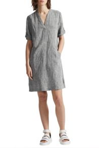 Great Plains Layla Linen Melange Smock Dress