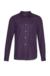French Connection Soft Cotton Twill Check Shirt