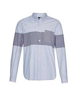 Chest Panel Stripe Shirt
