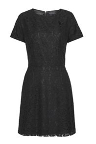 French Connection Isabella Lace Flared Sleeves Dress