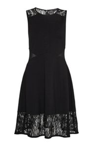 French Connection Tatlin Beau Jersey Flared Dress