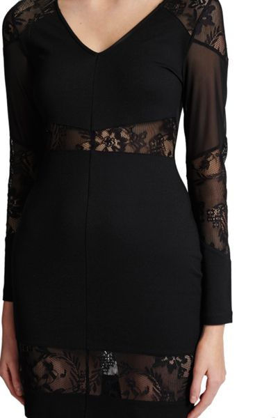 French Connection Tatlin Beau Jersey Bodycon Dress