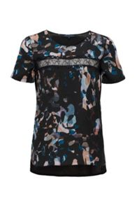 French Connection Cornucopia Polly Lace T-Shirt