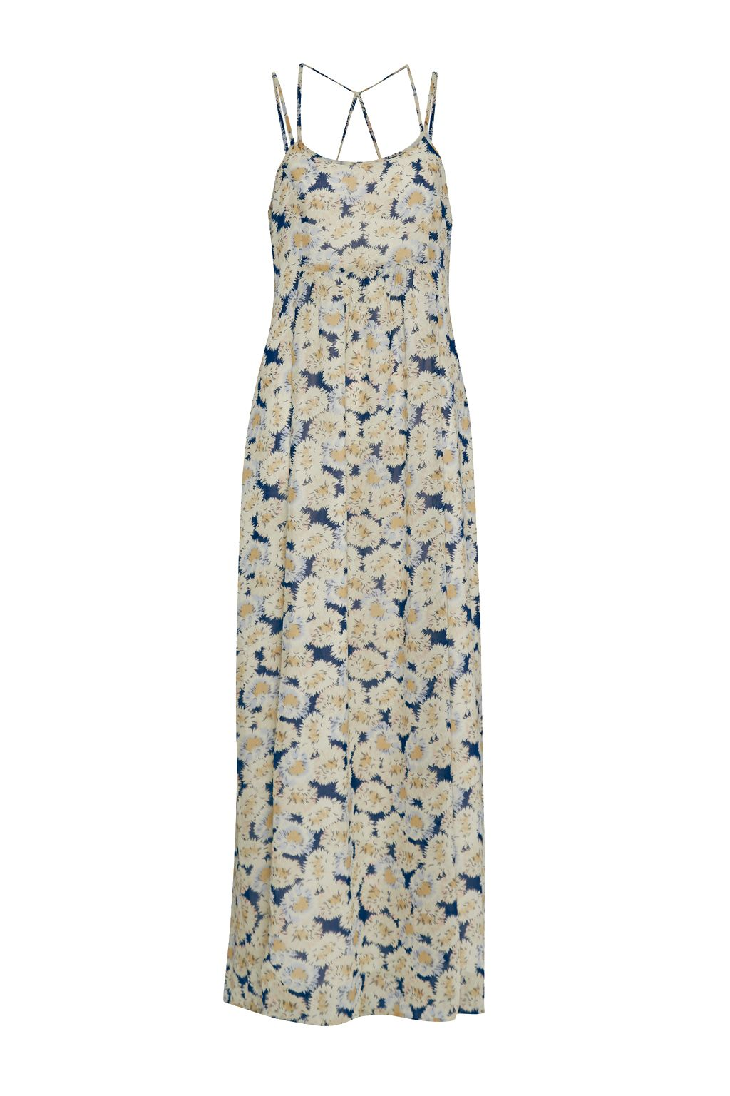 Great Plains Vintage Bloom Printed Maxi Dress, Yellow