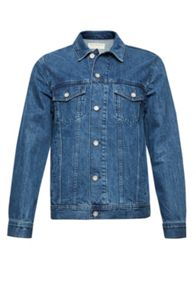 French Connection Bleached Denim Jacket