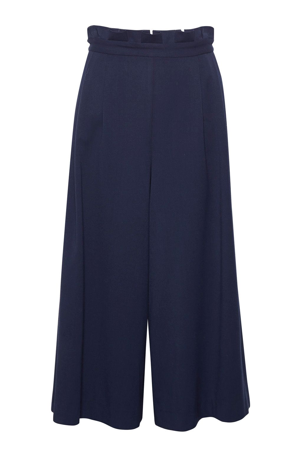 Great Plains Freya Brushed Culottes, Blue