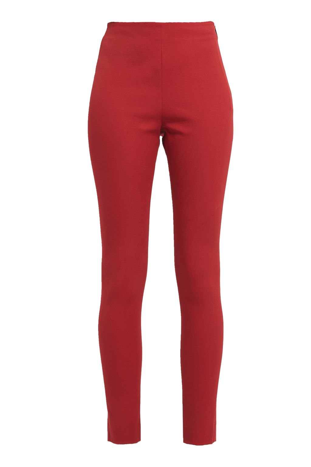 French Connection Street Twill Skinny Trousers, Red