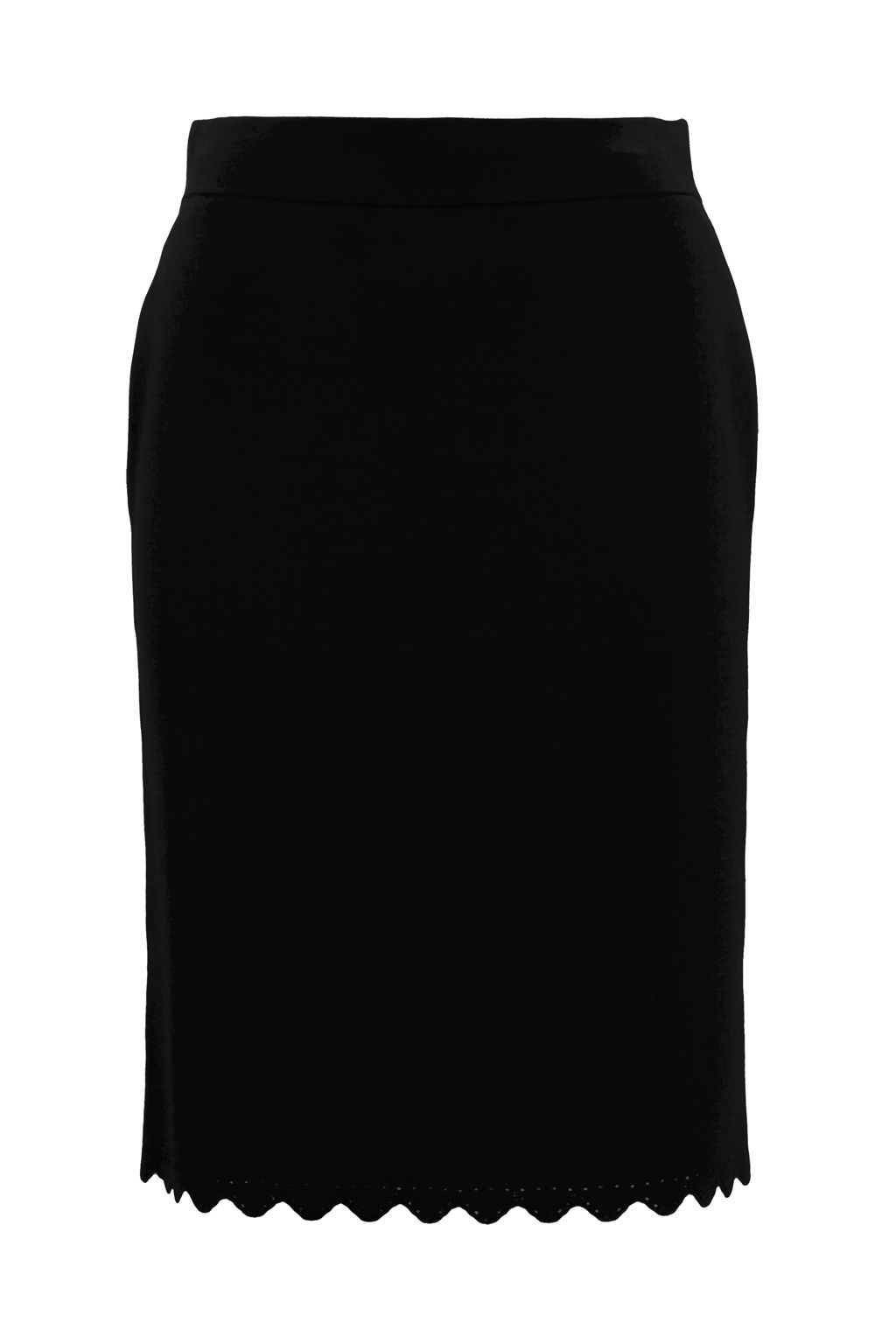 French Connection Lela Crepe Knit Pencil Skirt, Black