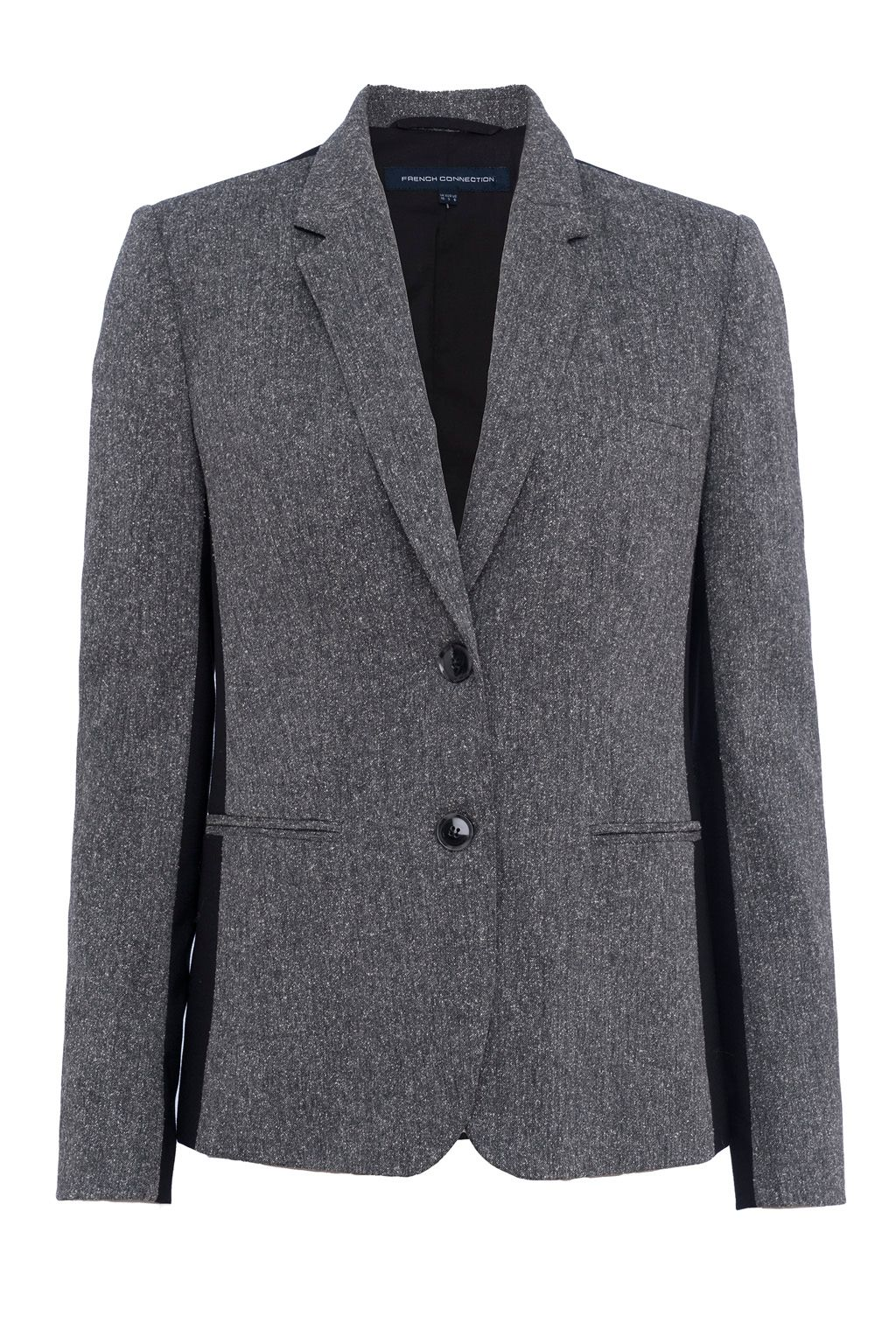 French Connection Antonia Tweed Jacket, Black