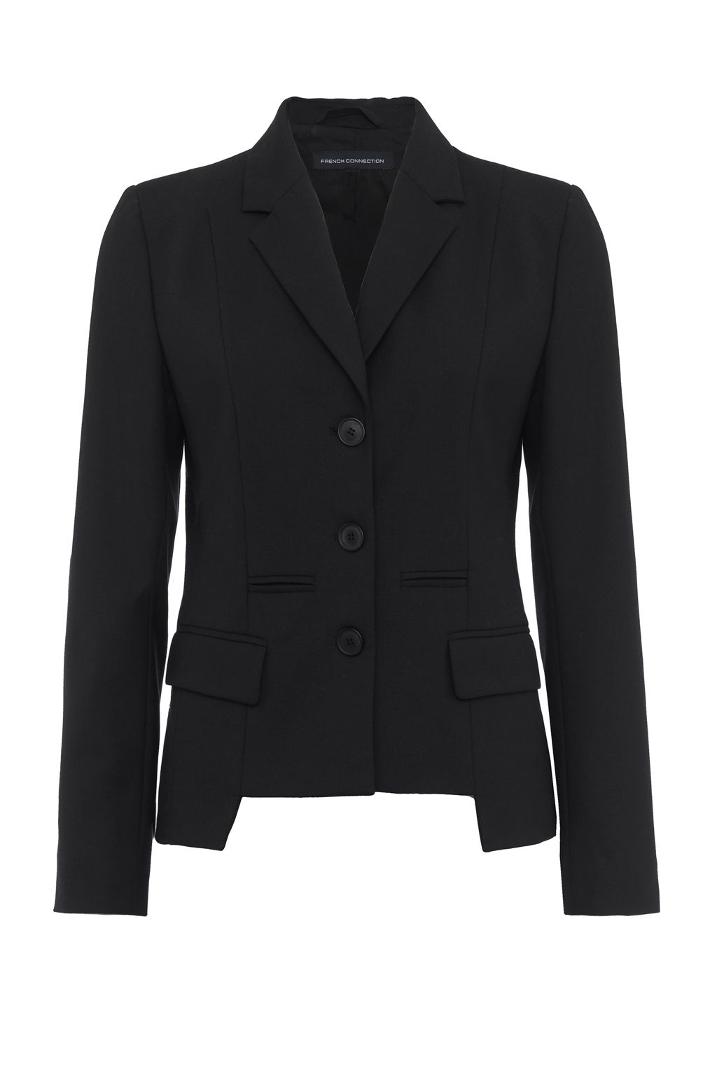 French Connection Winter Tallulah Tailored Blazer, Black