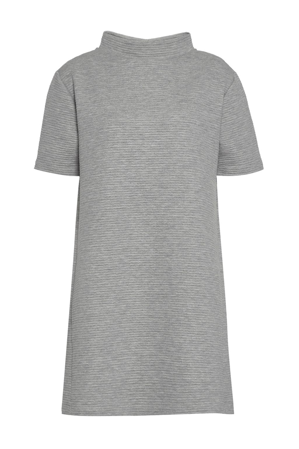French Connection Marin Ottoman Jersey Dress, Grey