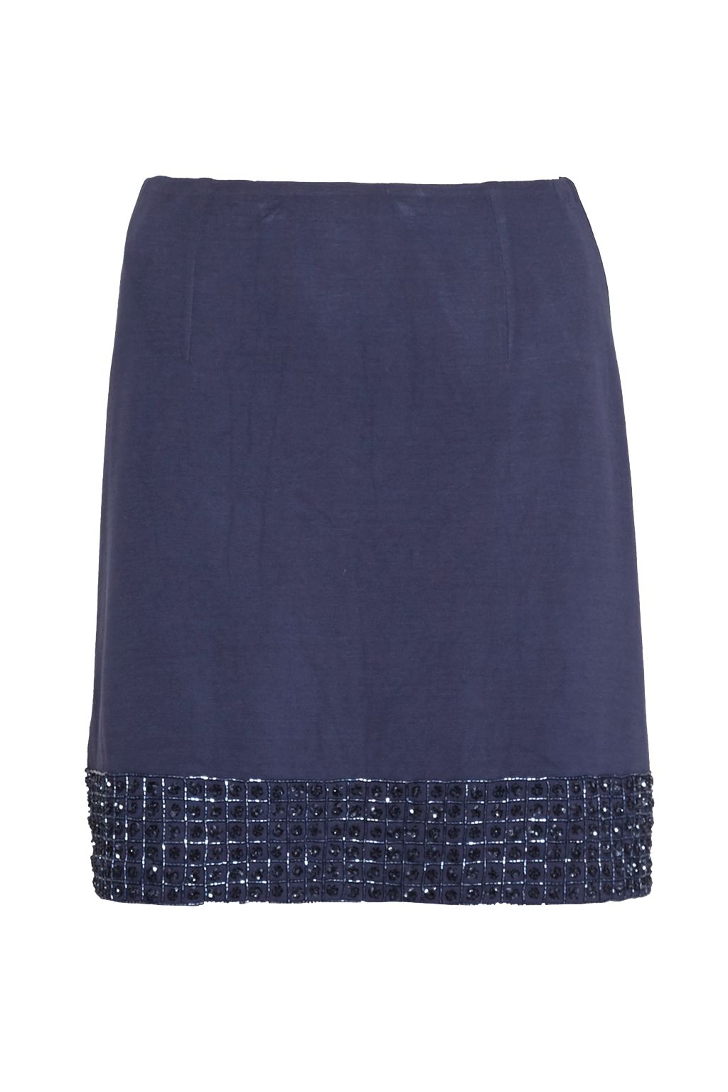 French Connection Crystal Shot Embellished Mini Skirt, Nocturnal