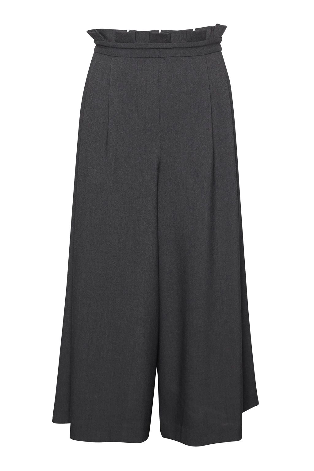 Great Plains Freya Brushed Culottes, Granite