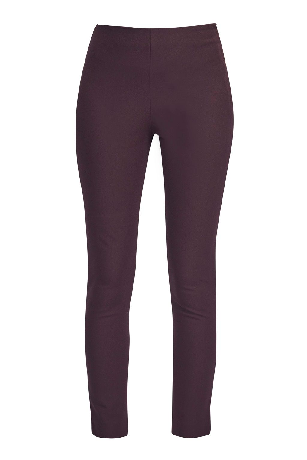 French Connection Street Twill Skinny Trousers, Purple