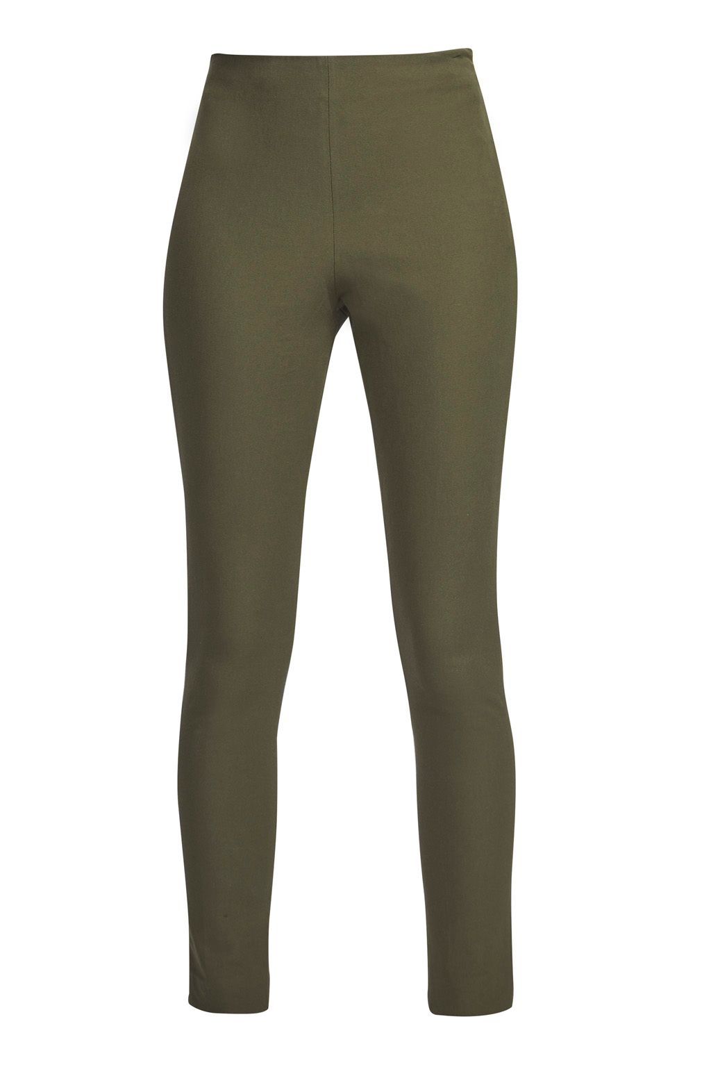 French Connection Street Twill Skinny Trousers, Olive