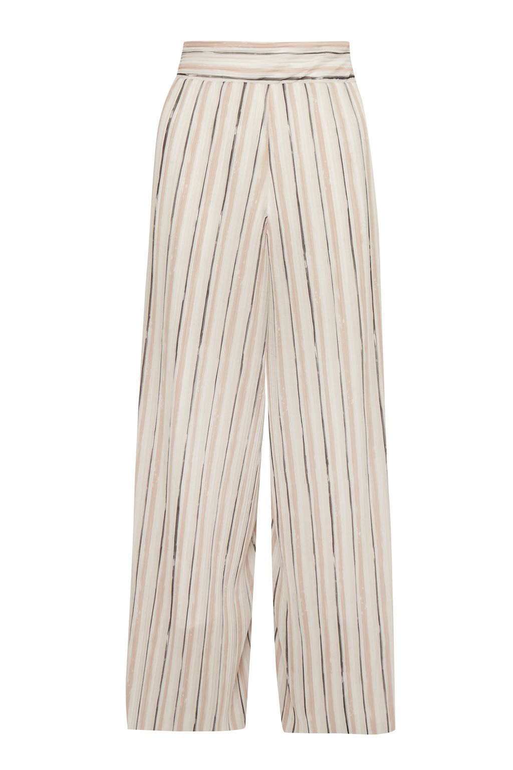 Great Plains Brush Stroke Culottes, White