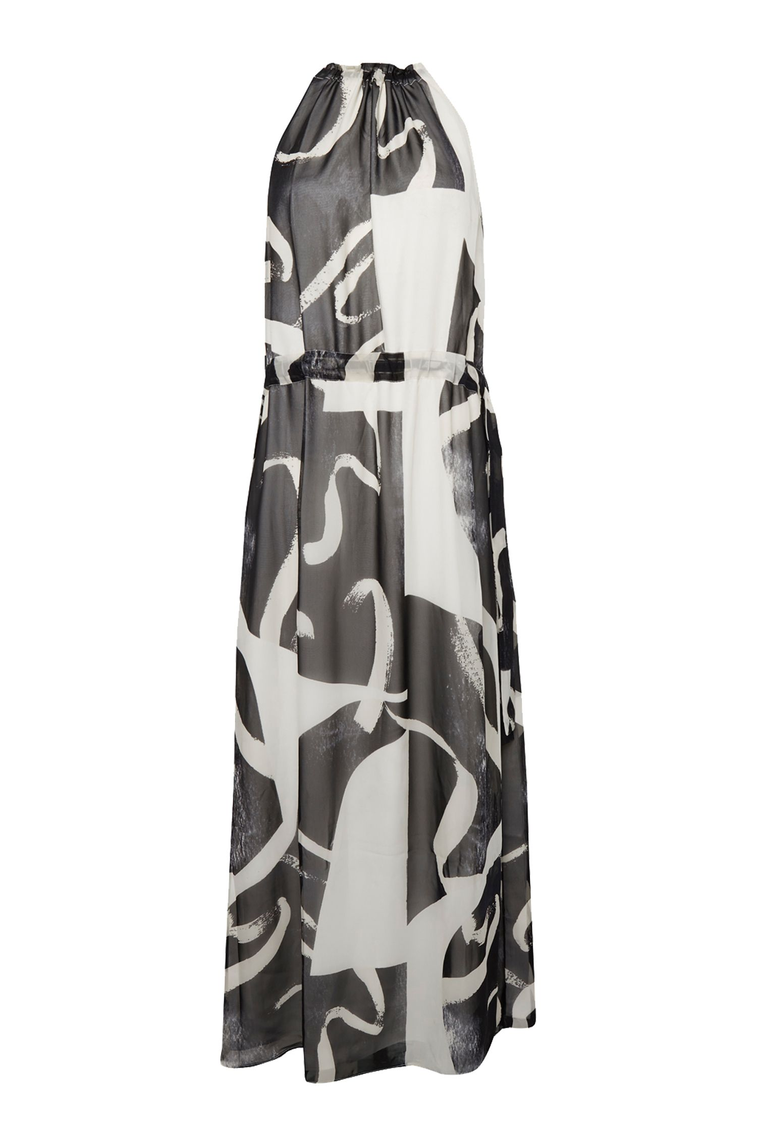 Great Plains Ink Wash Maxi Dress, Cream