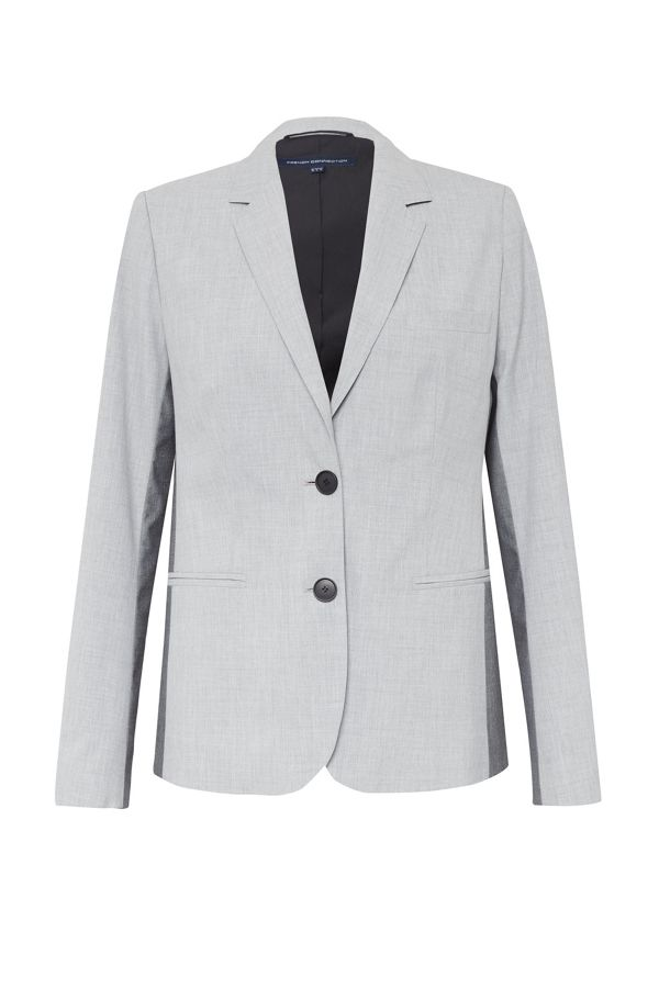 French Connection, Colour Block Suiting Fitted Blazer