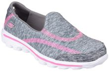 Skechers Go walk 2 relay slip on trainers