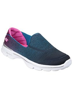Go walk 3 aura slip on pumps