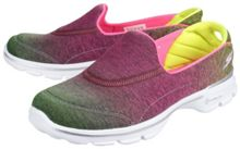 Skechers Go walk 3 aura slip on pumps