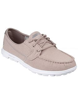 On the go mist canvas shoes